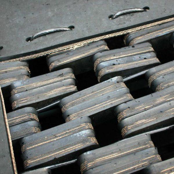 Gummiglieder Sprungmatte für Rollstuhl Trampolin